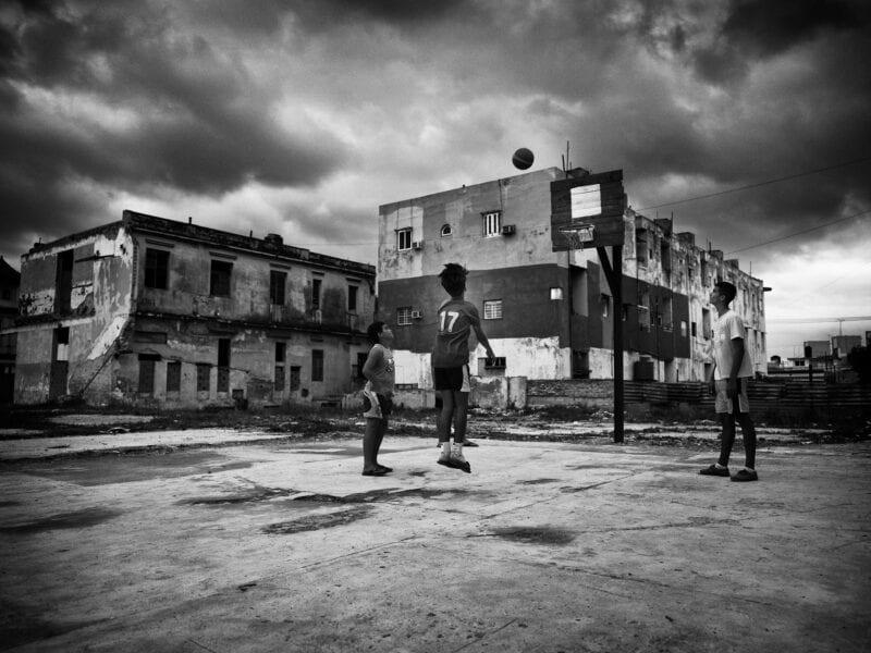 Amerikanischer Sport vor sozialistischer Kulisse, Havanna 2017